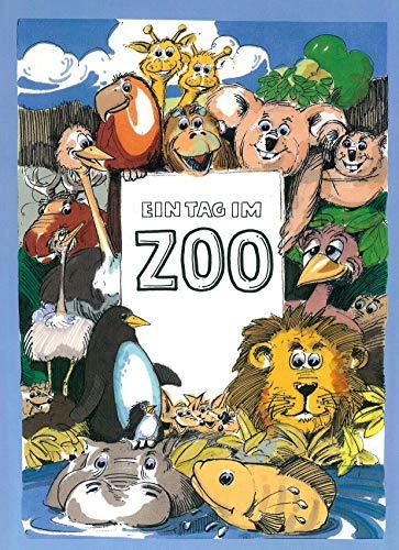 EIN TAG IM ZOO - personalisiertes Kinderbuch mit ihrem Kind als Titelfigur