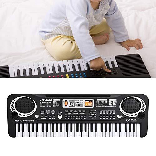 61 Key E-Piano Keyboard E-Piano, 61 Key E-Piano E-Keyboard Piano, E-Orgel Piano, für Kinder für Kinder