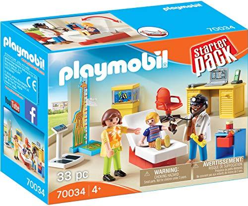 PLAYMOBIL 70034 Starter Pack StarterPack Beim Kinderarzt, bunt