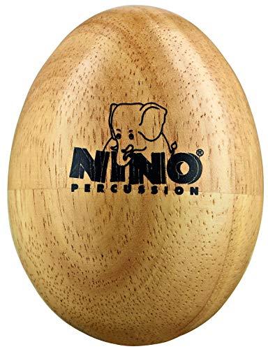 Nino Percussion NINO563 Egg Shaker aus Holz Größe M