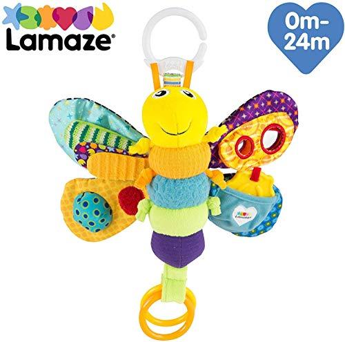 Lamaze Baby Spielzeug Freddie, das Glühwürmchen Clip & Go - hochwertiges Kleinkindspielzeug - Greifling...