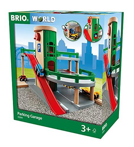 BRIO World - Parkhaus, Straßen und Schienen