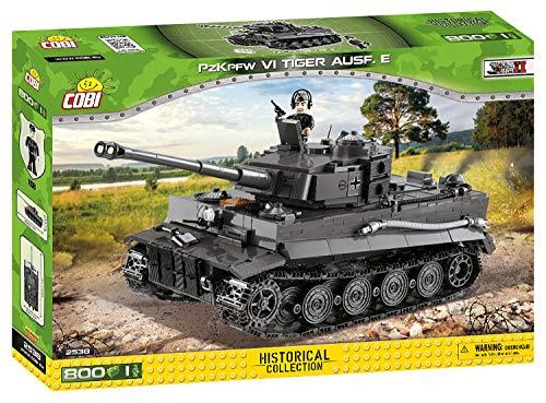 COBI COBI-2538 2538 PzKpfw VI Tiger AUSF. E Bausteine, Schwarz