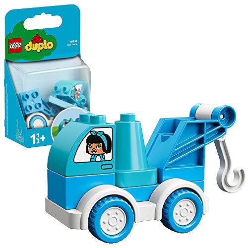 LEGO 10918 DUPLO Mein erstes Abschleppauto, Starter-Set für Kleinkinder im Alter von 1, 5 Jahren