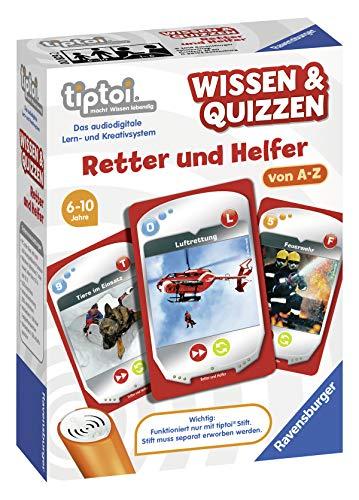 """Ravensburger tiptoi 00829 - Wissen & Quizzen """"Retter und Helfer"""" / Spiel von Ravensburger ab 6 Jahren..."""