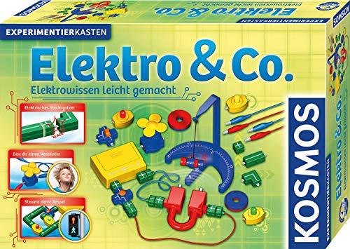 KOSMOS 620417 Elektro & Co. Elektrowissen leicht gemacht, Experimente zu Stromkreis, Ampel, Ventilator...