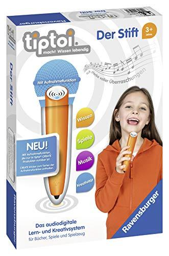 Ravensburger tiptoi Stift 00801 - Das audiodigitale Lern- und Kreativsystem, Lernspielzeug für Kinder ab...