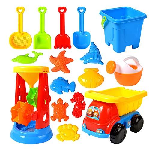 adfafw Sandspielzeug KinderSandkastenspielzeugsetsandkasten Spielzeug Frühes Lernen Strandspielzeug...