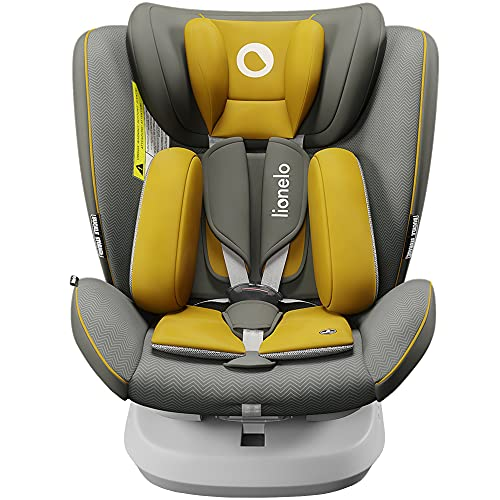 Lionelo Bastiaan ONE Kindersitz ab Geburt 0-36 kg Isofix Top Tether 360 Grad drehbar Rückwärts...