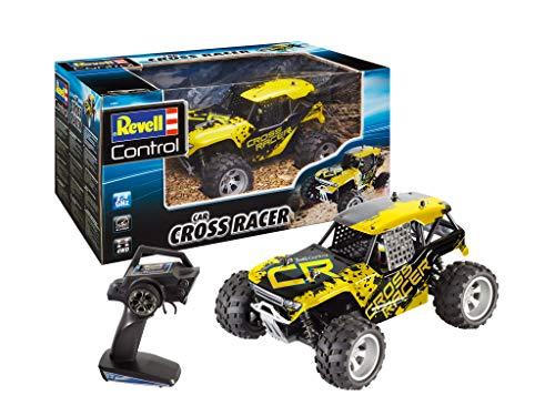 Revell Control 24467 RC Car Buggy Cross Racer, 2,4GHz, LiPo-Akku, bis zu 35 km/h, 4WD Allrad...