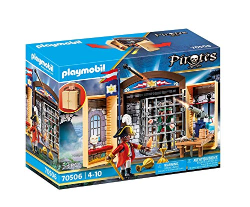 PLAYMOBIL Pirates 70506 Spielbox 'Piratenabenteuer', Ab 4 Jahren