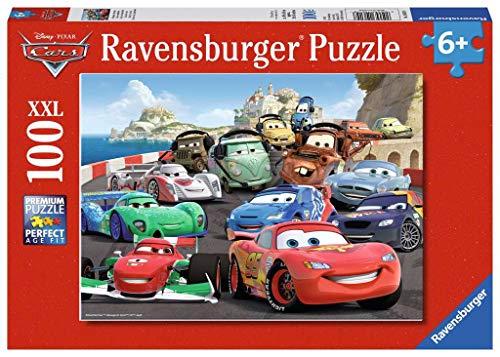 Ravensburger Kinderpuzzle 10615 - Brisantes Rennen - 100 Teile