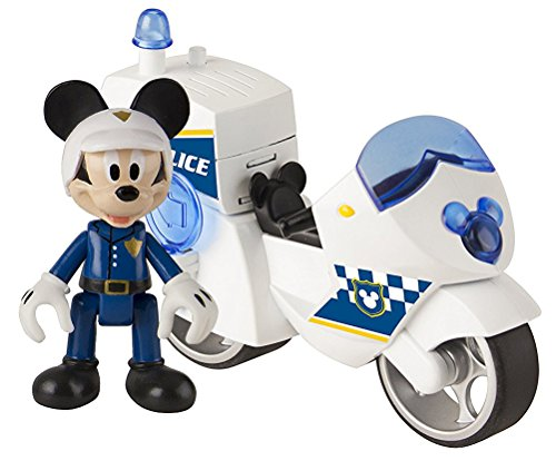 Micky Maus 182349MM2 Polizei Motorrad
