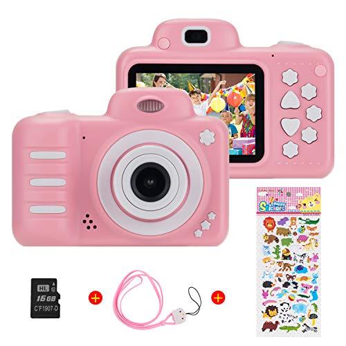 Vannico Kinder Digital Mini Kamera, Selfie Photo Kids Camera HD Kinderkamera 8 Megapixel, Wiederaufladbar...