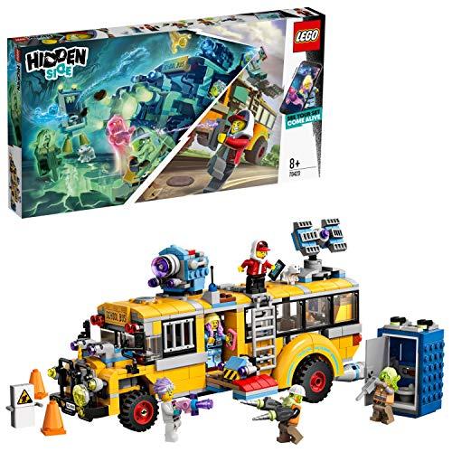 LEGO Hidden Side 70423 Paranormaler Abfang-Bus 3000, Spielzeug für Kinder mit Augmented Reality...