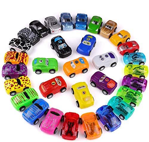 Funmo Spielzeugautos Set für Kinder, Mini Pull Back Cars Set, Spielzeug für 3-jährige Jungen &...