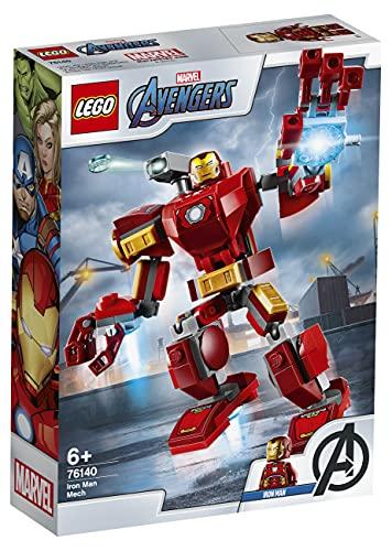 LEGO76140SuperHeroesMarvelAvengersIronManMechSpielset,Kampf-ActionfigurfürKinder...