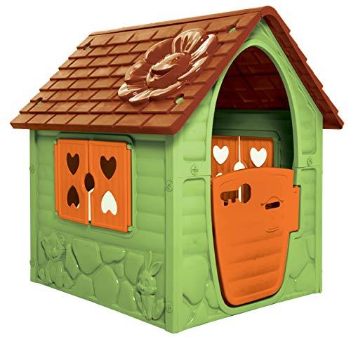 thorberg Spielhaus Kinderspielhaus blau,rosa oder grün (Made in EU) Kinderhaus (Grün)