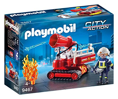 PLAYMOBIL 9467 Feuerwehr-Löschroboter, Colora
