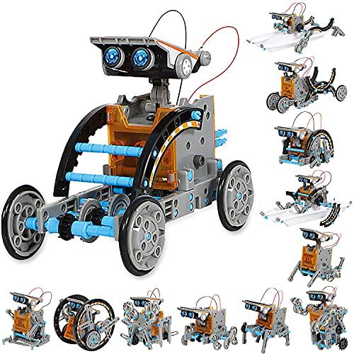 Sillbird Solar Roboter Kinder Spielzeug ab 8 Jahre, 12-in-1 STEM Konstruktion Bauset, 190 Stücke...
