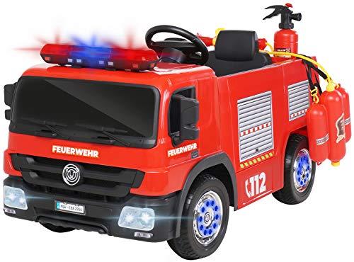 Kinder Elektroauto Feuerwehr SX1818