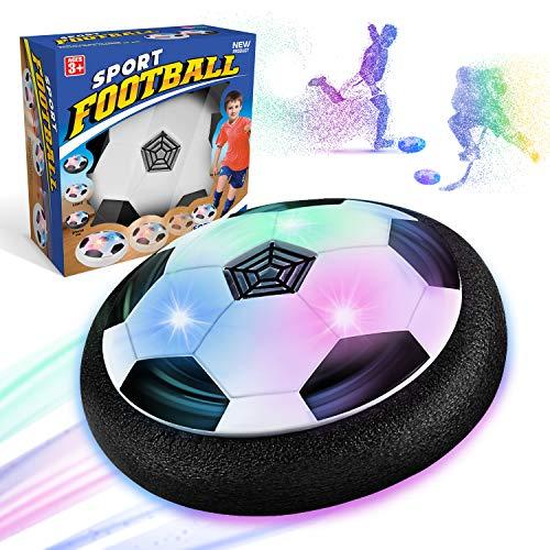 WEARXI Fussball Geschenk Jungen 5 6 10 Jahre - Hover Ball Spielzeug Ab 5-10 Jahre Junge, Air Hockey...