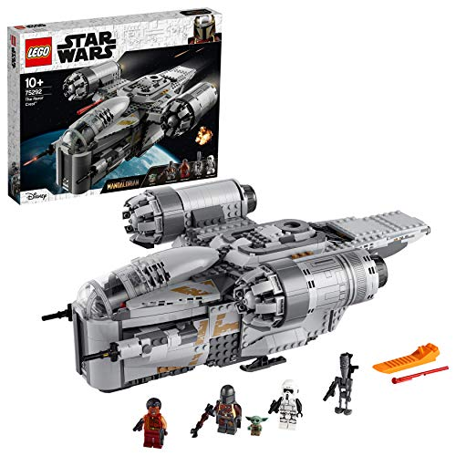 Bauspielzeug 'The Mandalorian – Transporter des Kopfgeldjägers' von LEGO Star Wars