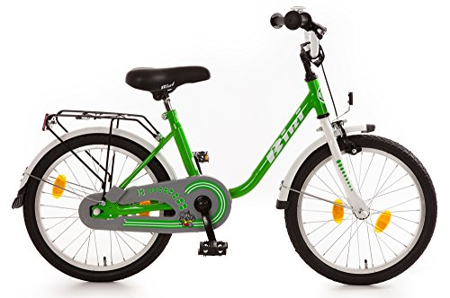 Bibi Bibi 18' Kinderrad mit R�cktrittbremsnabe 18 Zoll Kinderfahrrad gr�n