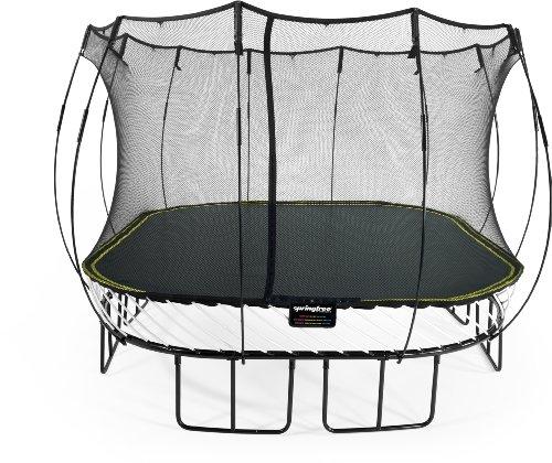 Springfree Trampolin S113 - Large Square 340 cm x 340 cm Reine Sprungfläche (entspricht 400 cm x 400 cm)...