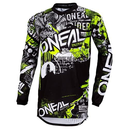 O'NEAL | Motocross-Shirt Langarm | Kinder | MX MTB Mountainbike | Passform für Maximale...