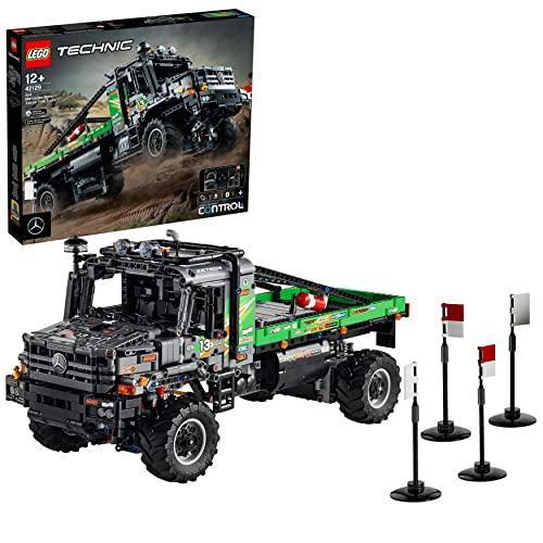 LEGO 42129 Technic 4x4 Mercedes-Benz Zetros Offroad-Truck, ferngesteuertes Auto, App-kontrolliertes...