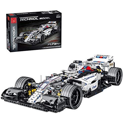KEAYO Technik Formel F1 Auto, Mork F1 Rennwagen, Technik Auto Modell für Ferrari F1, 1100 Teile...
