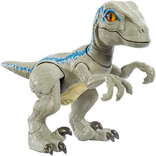 Mattel GFD40 Jurassic World Dinosaurier Spielzeug Dinofreundin Blue mit realistischen Bewegungen,...