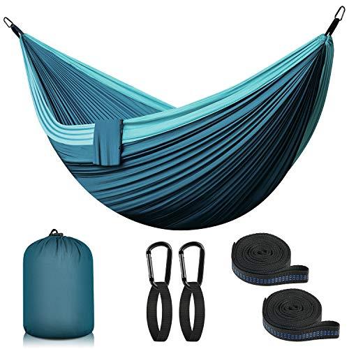 Hängematte Outdoor Camping Hängematte Reise Ultraleicht Hammock   2 Person bis 300 kg, 300 x 200 cm,...