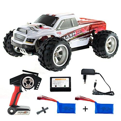 efaso WL Toys A979-B + Zusatzakku - schneller RC Monstertruck 70 km/h schnell, wendig, voll digital...