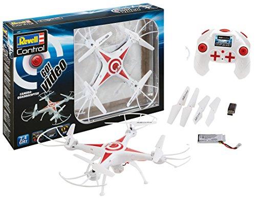 Revell Control 23858 RC Kamera-Quadcopter GO! Video, 2.4GHz, Akku, Flip-Funktion, Rotorschutz, LED,...