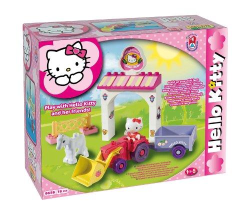 MGM 108658Hk–Baukasten–Hello Kitty–18-teilig