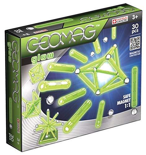 Geomag, Classic Glow 335, Magnetkonstruktionen und Lernspiele, 30-teilig