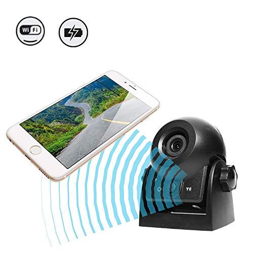 WiFi Magnetic Wireless Backup Kamera, die Kamera IP68 wasserdichte Rückfahrkamera-Anhängekamera für...