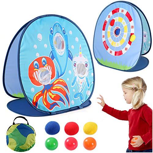 vamei 1 Stück Wurfspiele für Draußen Wurfspiel Kinder Ballspiele für Draußen Gartenspiele...