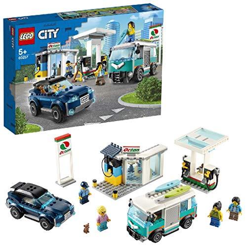 LEGO 60257 Tankstelle City Autospielzeug für Kinder