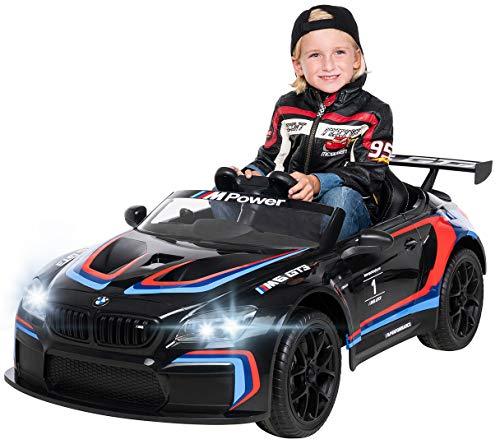 Actionbikes Motors Kinder Elektroauto BMW M6 GT3 - Lizenziert - 2,4 Ghz Fernbedienung - Bluetooth -...