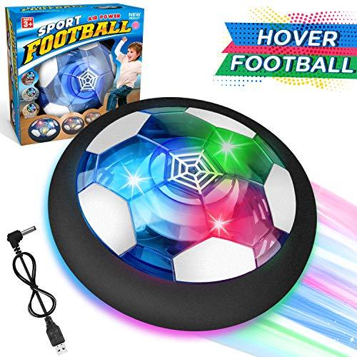 WEARXI Fussball Geschenke Jungen 5 10 Jahre - USB Hover Ball Spielzeug Ab 5-10 Jahre Junge, Air Hockey...