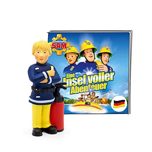 tonies Hörfigur für Toniebox, Feuerwehrmann Sam – Eine Insel voller Abenteuer, Hörspiel mit 5...