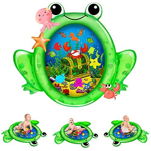 Kaome Wassermatte Baby Wasserspielmatte BPA-frei Große, Aufblasbare Spielmatte Baby Spielzeug ab 3 6 9...