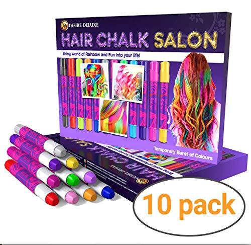 Desire Deluxe Hair Chalk Geschenke für mädchen, Haarkreide zum Haare Färben Spielzeug für...