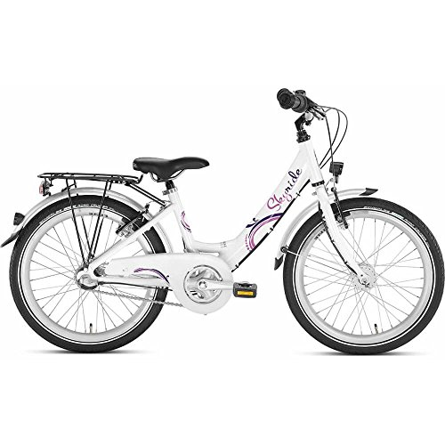 Puky 4446 - Skyride 20-3 Alu - Fahrrad weiß