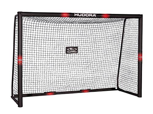 HUDORA 76915,Fußballtor Pro Tect Fußball Tor für Kinder und Erwachsene, Mehrfarbig, 300x200 cm