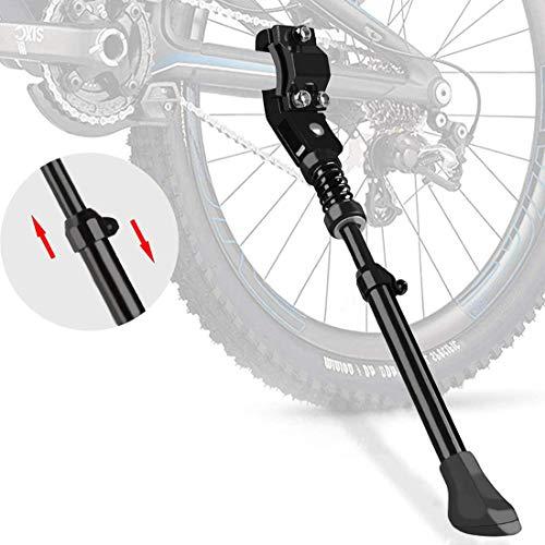 KOMUS Fahrradständer,Fahrradrahmen aus Aluminiumlegierung,Anti-Rutsch, Höhenverstellbarer...