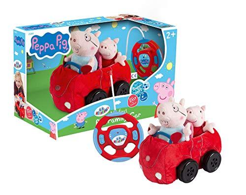 Revellino 23203 Mein erstes RC Car mit Peppa Wutz und Pappa Pig, 40MHz Fernsteuerung, für Kinder ab 2...